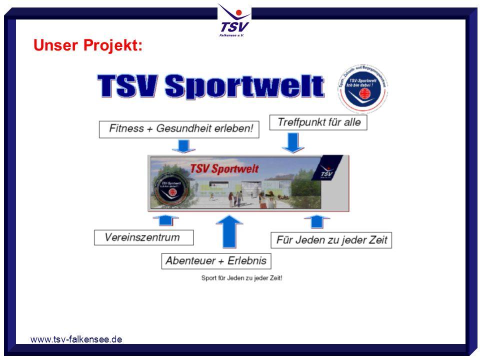 www.tsv-falkensee.de TSV Sportwelt Unser Projekt: