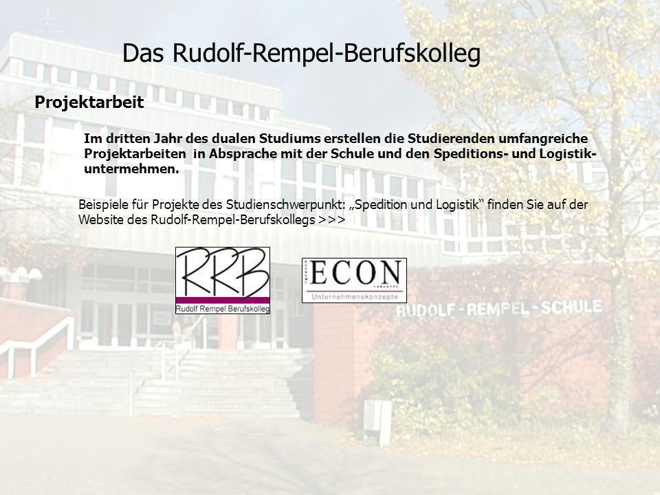 Das Rudolf-Rempel-Berufskolleg Aufnahmebedingungen Eingangsvoraussetzung ist die Fachhochschulreife (mindestens schulischer Teil) oder das Abitur.