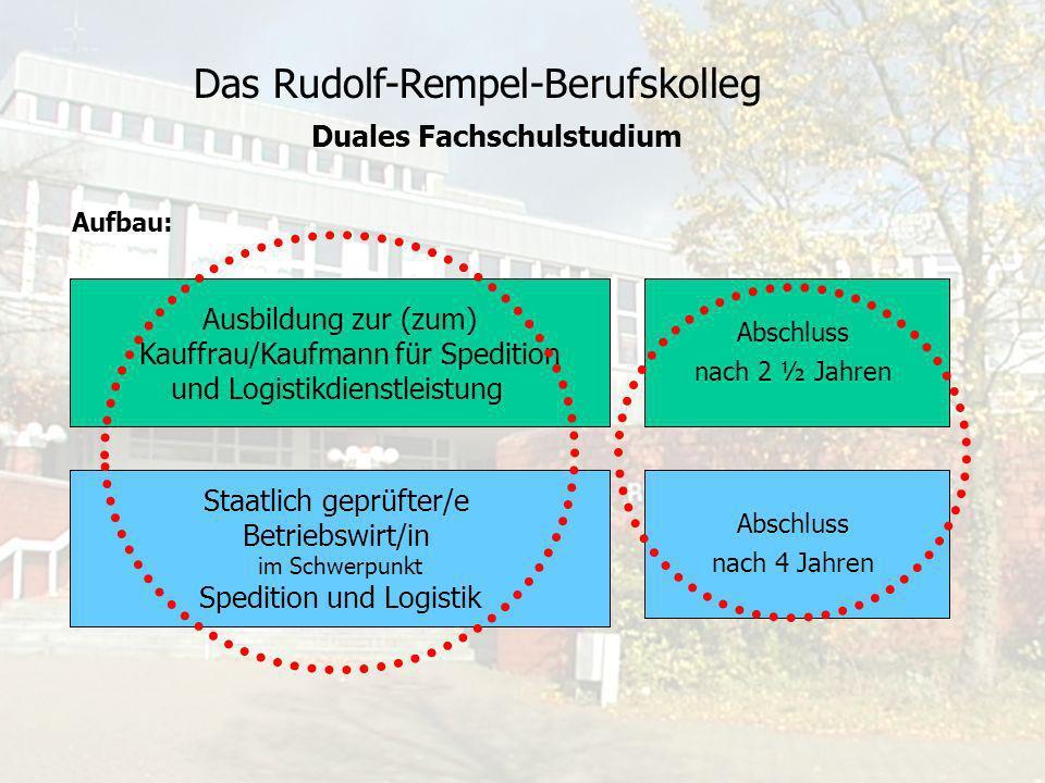 Das Rudolf-Rempel-Berufskolleg Dieser Pionier-Ausbildungsgang ist ein schlanker Weg zu einem hohen Abschluss.