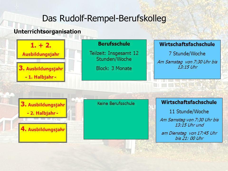 Das Rudolf-Rempel-Berufskolleg Unterrichtsfächer: I.