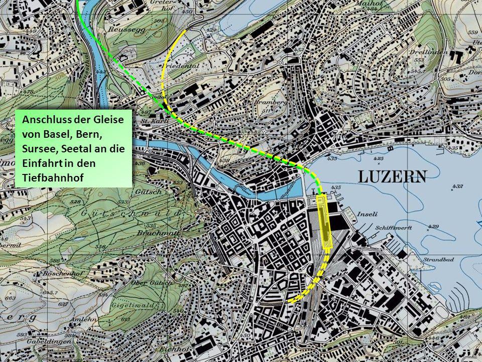 Basel Bern Sursee Seetal