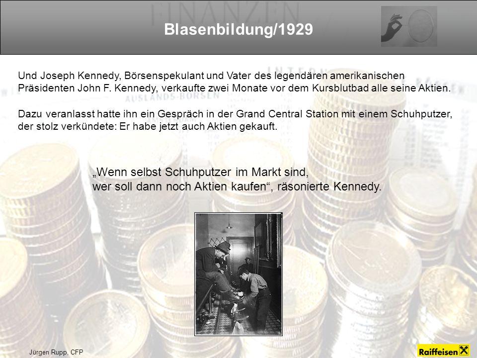 Jürgen Rupp, CFP Blasenbildung/1929