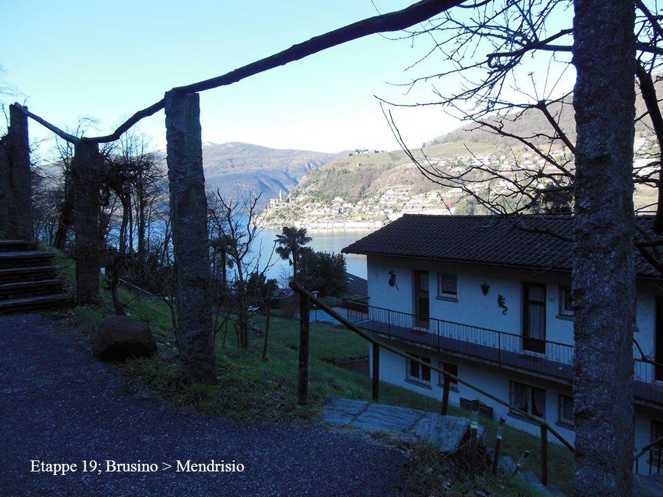 Etappe 19; Brusino > Mendrisio