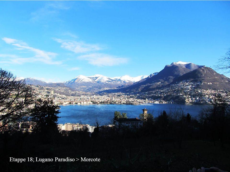 Etappe 18; Lugano Paradiso > Morcote