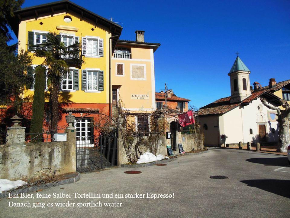 Morcote und Santa Maria del Sasso