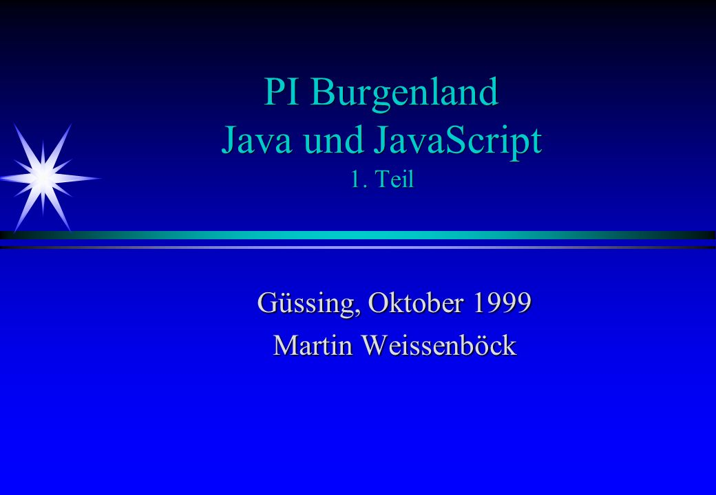 Java: Modifikatoren
