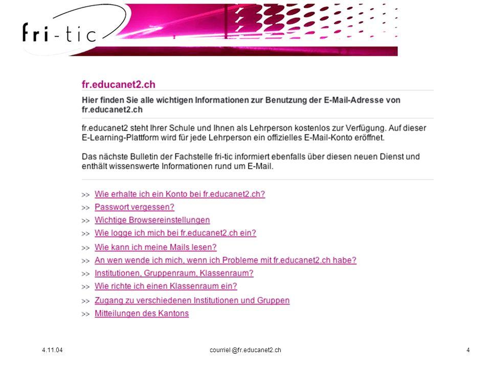 4.11.04courriel @fr.educanet2.ch4