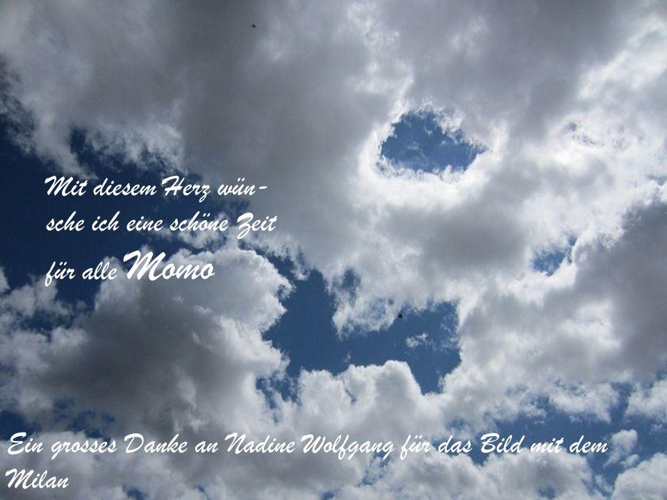 Vergiss nicht; Jede Wolke, so schwarz sie auch sein mag, hat ihre Sonnenseite