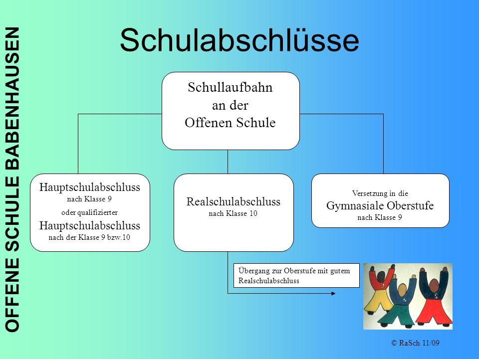OFFENE SCHULE BABENHAUSEN © RaSch 11/09 Sozialarbeit in der Offenen Schule Babenhausen