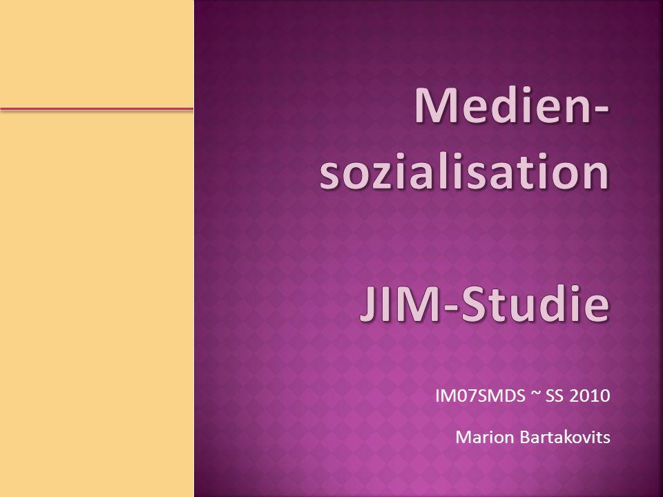 Marion Bartakovits IM07SMDS ~ SS 2010