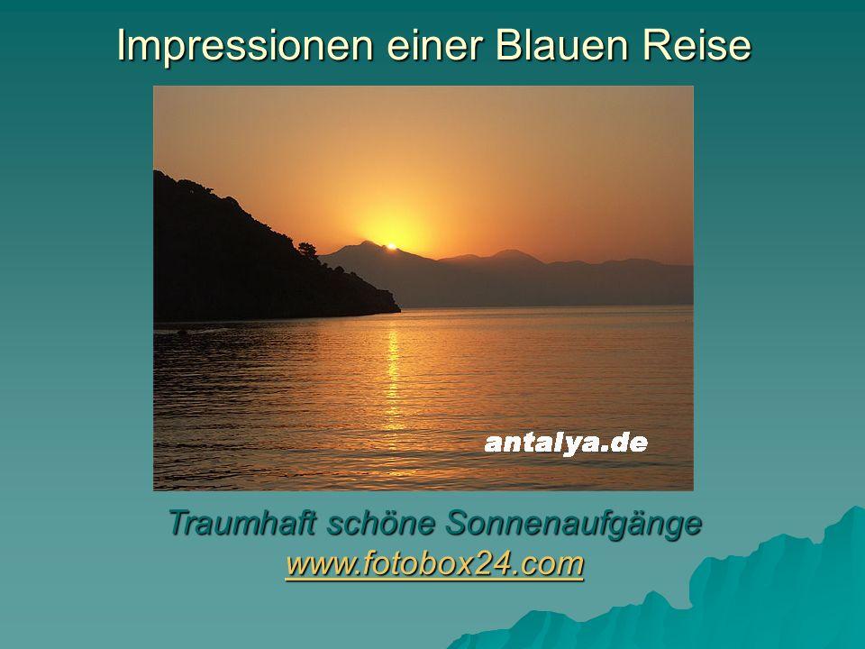 Impressionen einer Blauen Reise Frühstück in einsamen Buchten www.antalya.de www.antalya.de