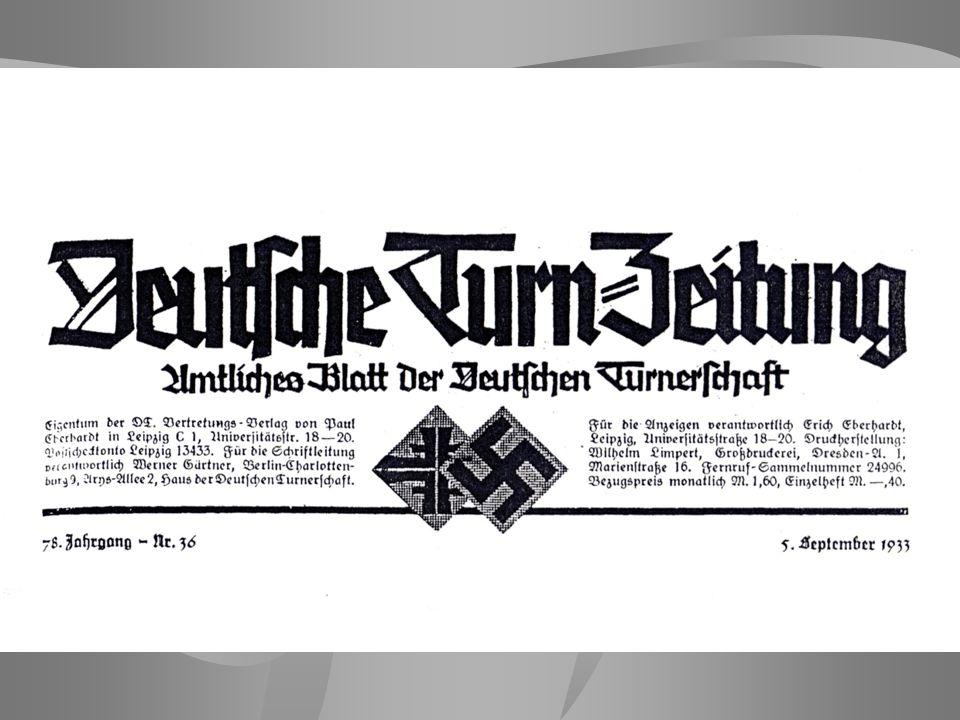 Zum Zeitpunkt der Machtübernahme durch die Nationalsozialisten gehörten nur ca.