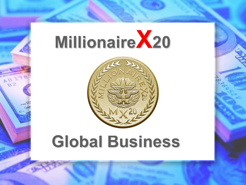 Global Business Millionaire X 20