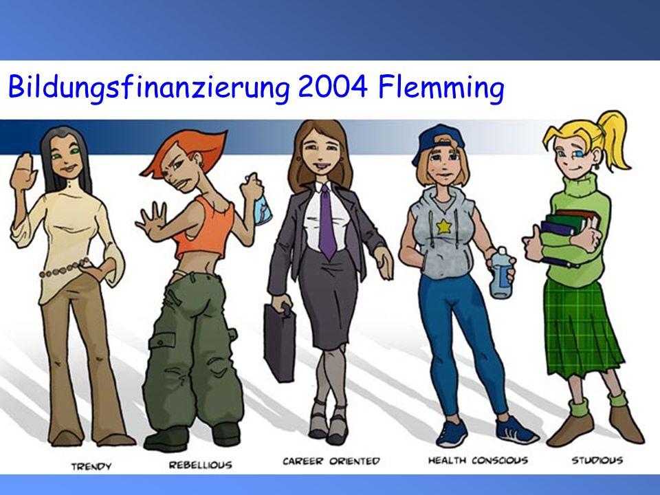 Bildungsfinanzierung 2004 Flemming