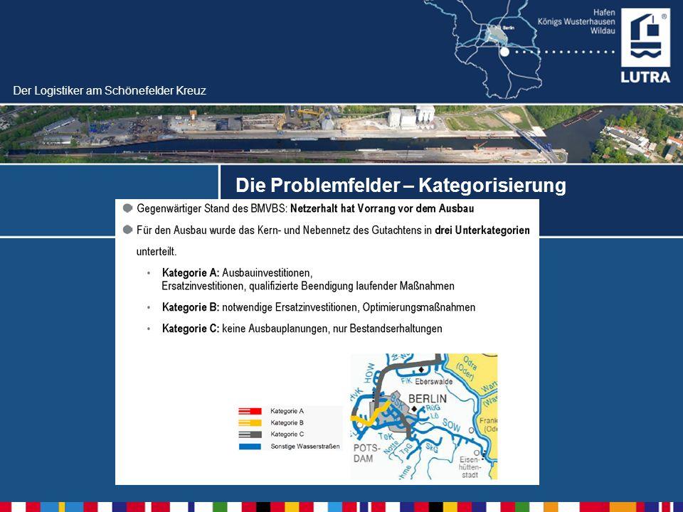 Der Logistiker am Schönefelder Kreuz Die Problemfelder – Kategorisierung Staatsvertrag zur Oder