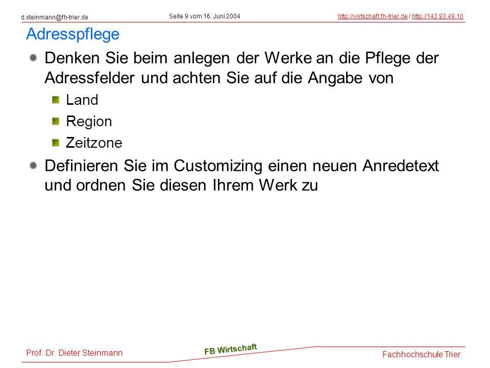 d.steinmann@fh-trier.de Seite 9 vom 16.