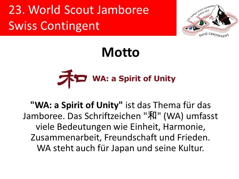 23. World Scout Jamboree Swiss Contingent