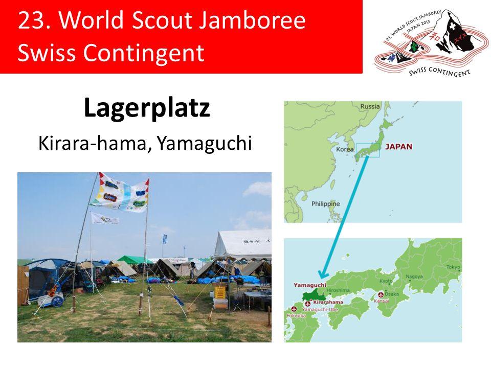 23. World Scout Jamboree Swiss Contingent 3 km 1 km