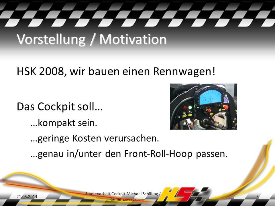Vorstellung / Motivation HSK 2008, wir bauen einen Rennwagen.