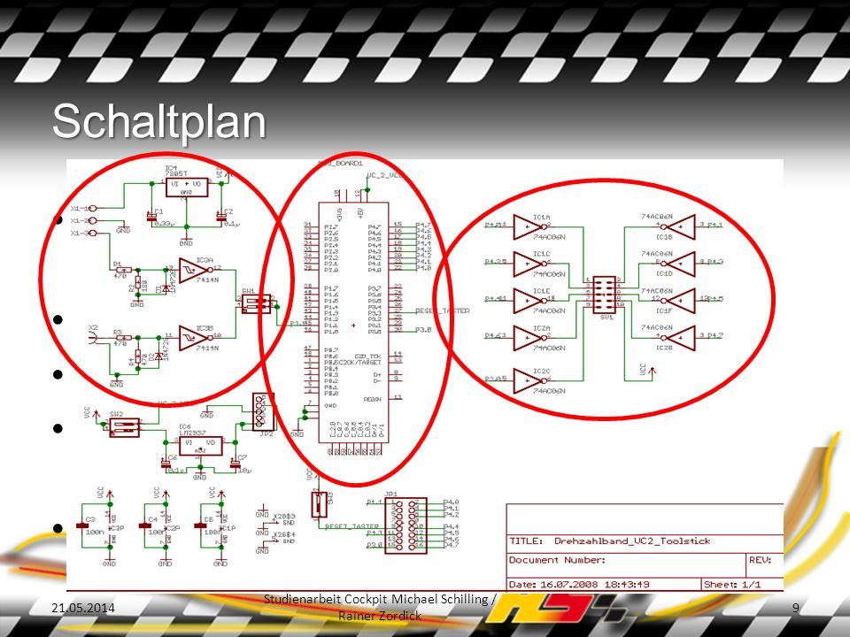 Layout 21.05.2014 Studienarbeit Cockpit Michael Schilling / Rainer Zordick 10