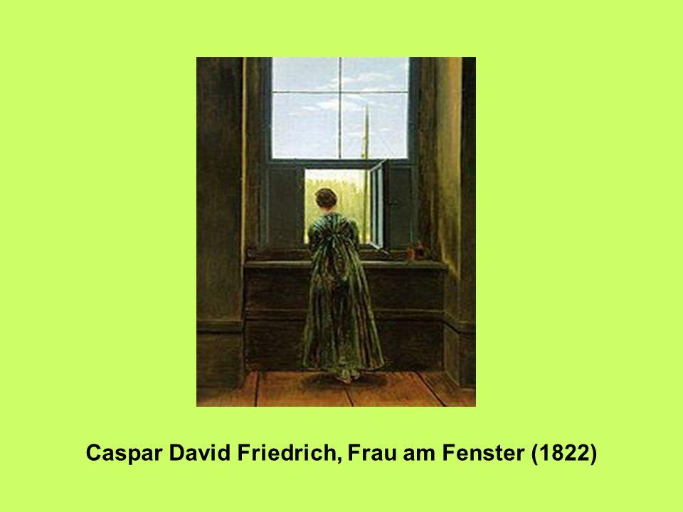Caspar David Friedrich, Frau am Fenster (1822)