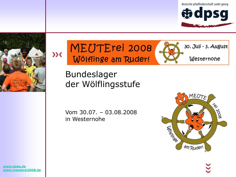Bundeslager der Wölflingsstufe Vom 30.07.