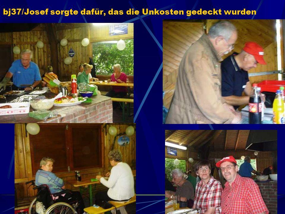 Gerd (Hase46) hatte für genug Nachschub gesorgt