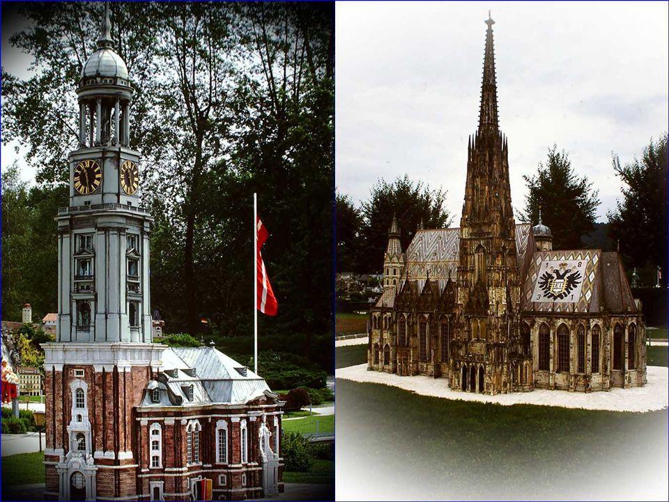 Im Juli 1957 eröffneten holländische Privatleute im damals noch wenig attraktiven Wörthersee-Dreieck von Klagenfurt die Miniaturstadt Minieurop .
