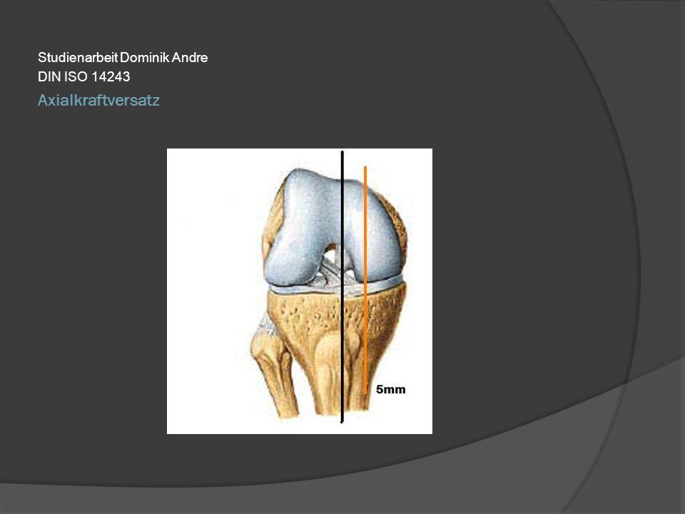 Axialkraftversatz Studienarbeit Dominik Andre DIN ISO 14243