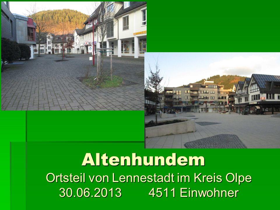 Altenhundem Ortsteil von Lennestadt im Kreis Olpe 30.06.2013 4511 Einwohner