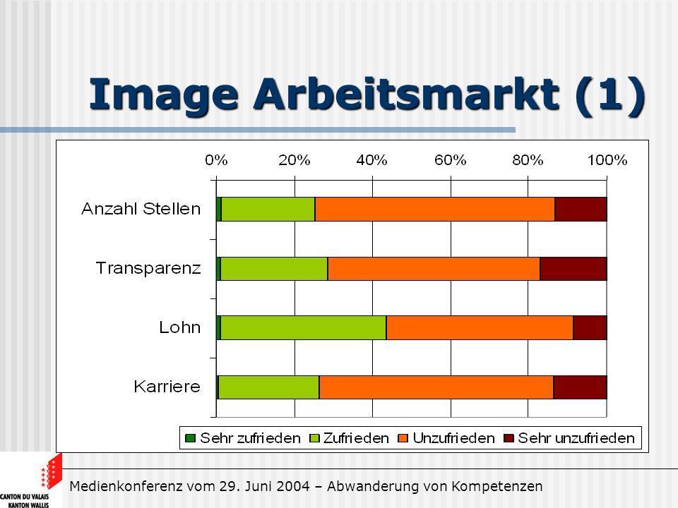 Medienkonferenz vom 29. Juni 2004 – Abwanderung von Kompetenzen Image Arbeitsmarkt (1)