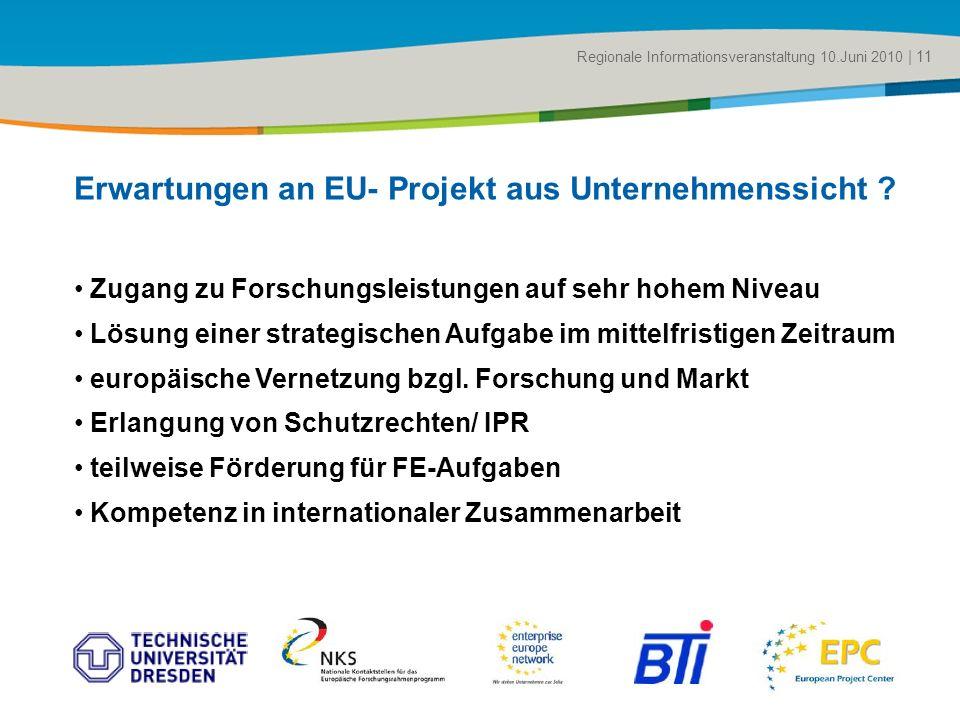 Zugang zu Forschungsleistungen auf sehr hohem Niveau Lösung einer strategischen Aufgabe im mittelfristigen Zeitraum europäische Vernetzung bzgl. Forsc