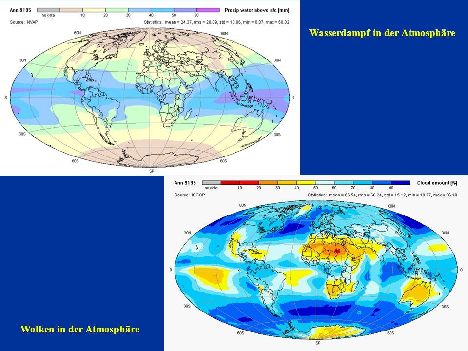 1991 - 1995 Planetarer Strahlungshaushalt 1991 to 1995