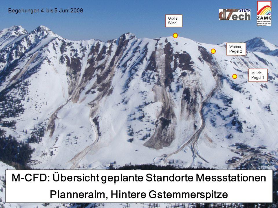M-CFD, 5. Juni 2009 Begehung Planneralm, Hint.