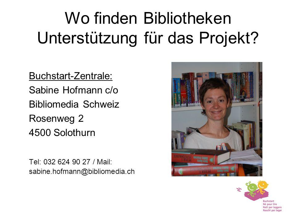 Wo finden Bibliotheken Unterstützung für das Projekt.
