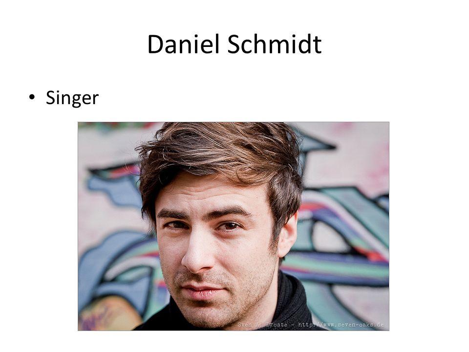 Daniel Schmidt Singer