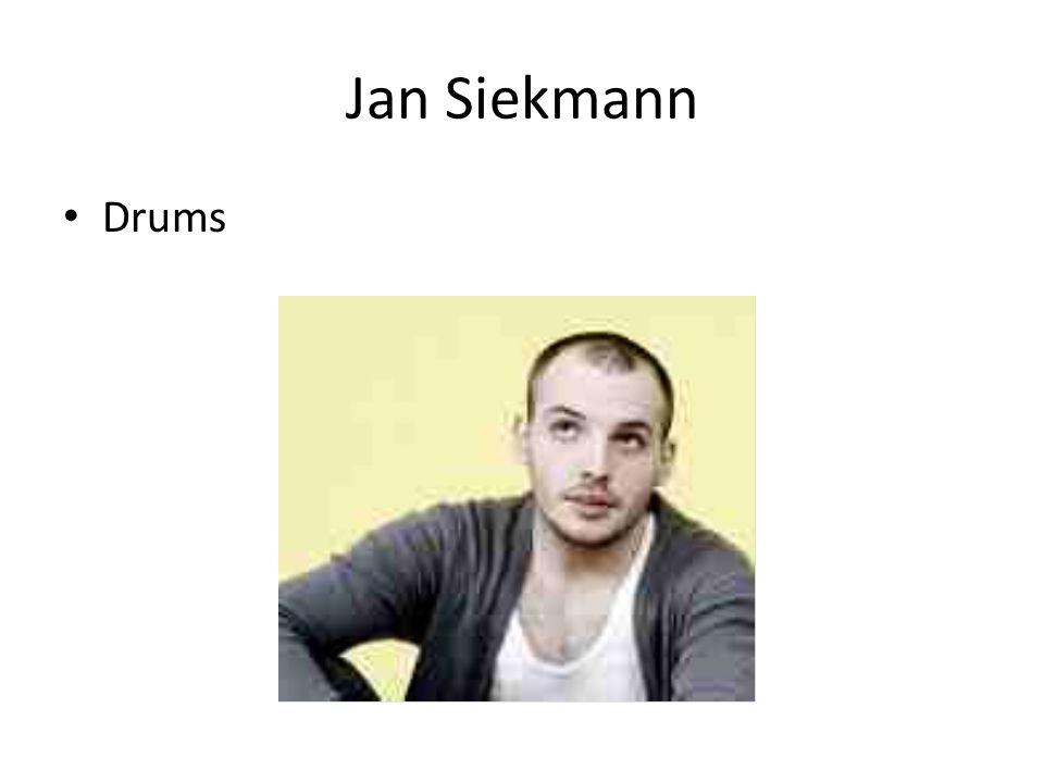 Jan Siekmann Drums