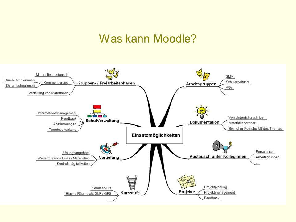 Was kann Moodle?