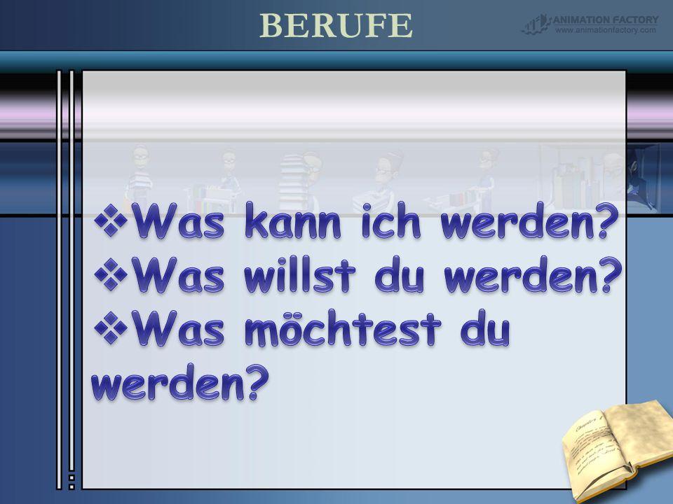 BERUFE