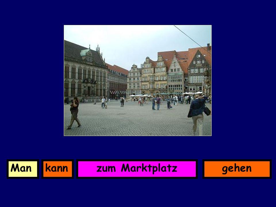 in der FußgängerzonekannManbummeln (window shopping)