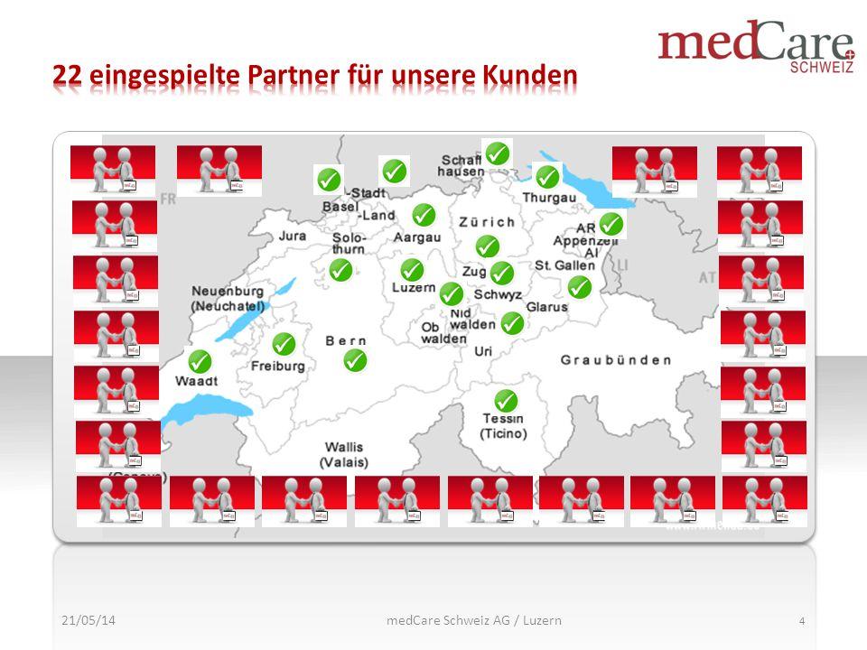 21/05/14 4 medCare Schweiz AG / Luzern