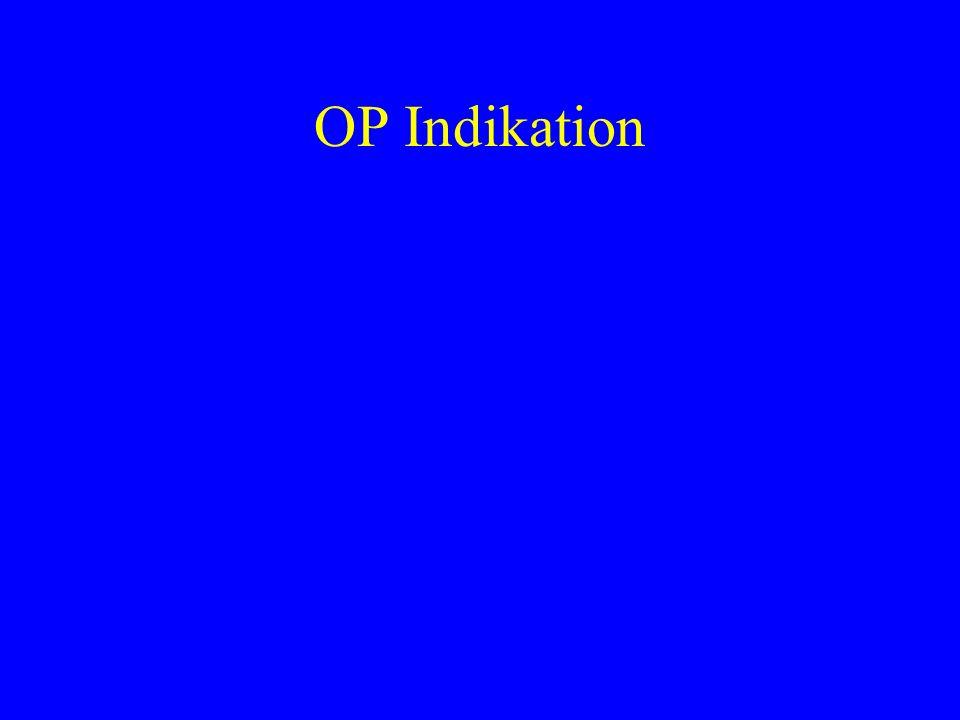 OP Indikation