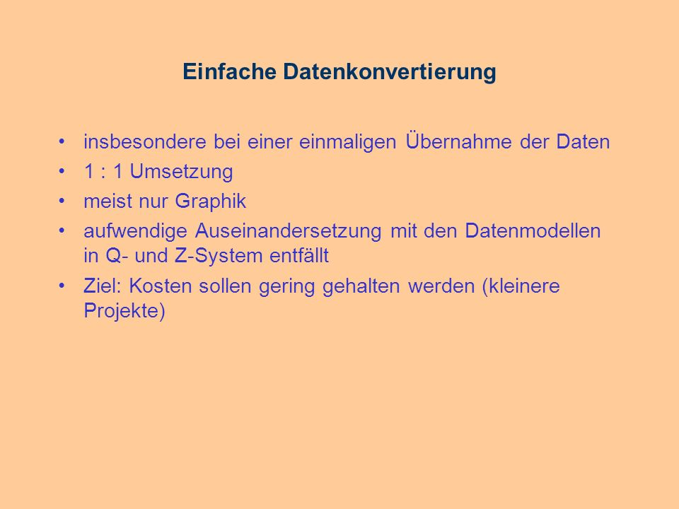 Beispiel-Objekt FACDEF ATTSEG = CITRA_ATT_1 12STRAßE C(42): Barbarossastraße PICTURE FTEXT = CITRA_FTEXT FLDID = 12 2518872.8385686469.762 LINE = CITRA__LINE 2518864.955686472.05 2518866.745686472.83 2518865.655686475.32 2518864.955686472.05 TEXT = CITRA__TEXT 2518872.8385686472.762 `CISS TDI GmbH` ENDFAC Beginn Ende Attributteil Geometrie- teil