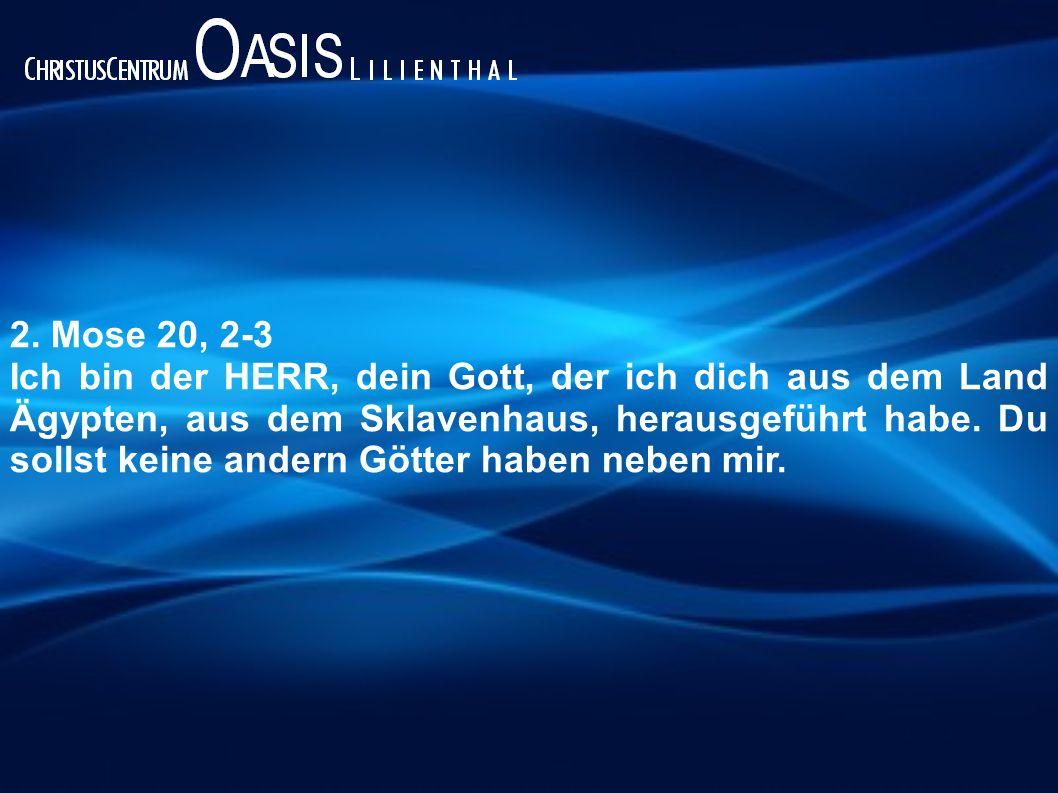 Liebe(r) Gott zuerst!