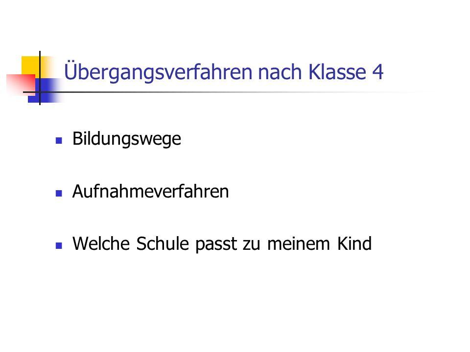 Bildungswege in Baden-Württemberg
