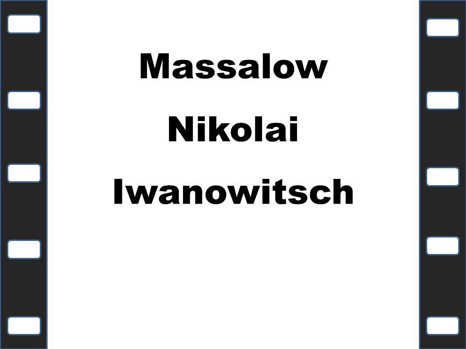 Massalow Nikolai Iwanowitsch