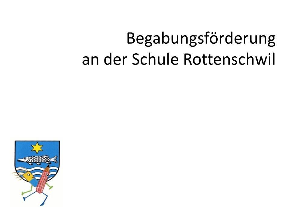 Begabungsförderung an der Schule Rottenschwil