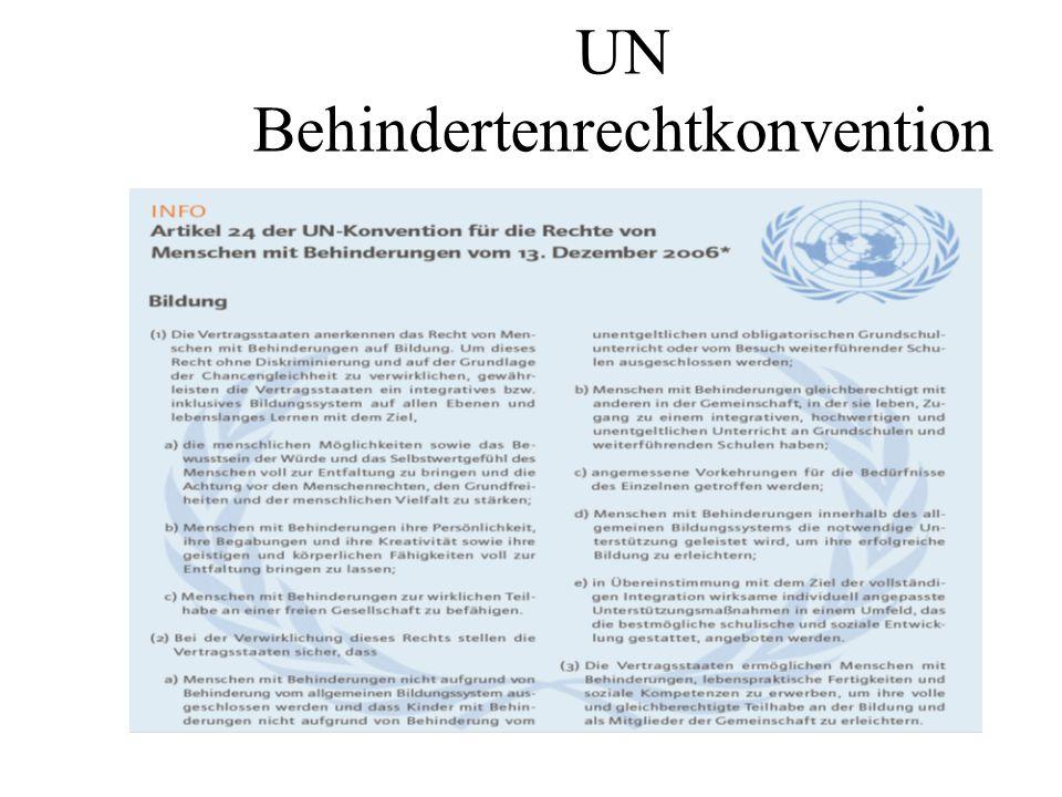 UN Behindertenrechtkonvention