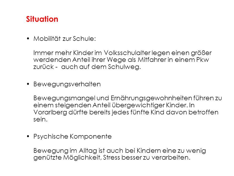 Durchführung ab Herbst 2007 (in Zusammenarbeit mit der Gemeinde) Weitere Schritte: - Information und Diskussion im Kollegium der Schule - Bei Interesse: Meldung bis 30.