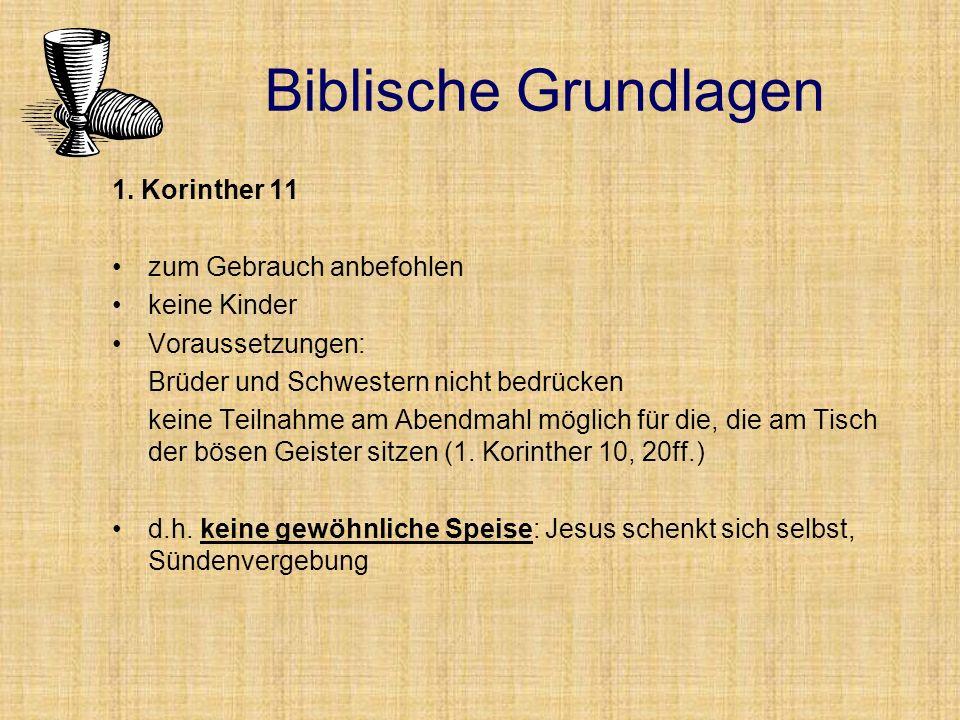 Acta 2,42 Sie blieben aber beständig in der Lehre der Apostel und in der Gemeinschaft und im Brotbrechen und im Gebet.